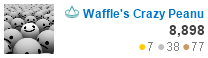 profile for Waffle's Crazy Peanut at Physics Stack Exchange, Q&A for active researchers, academics and students of physics
